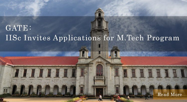 IISc Invites Applications for M