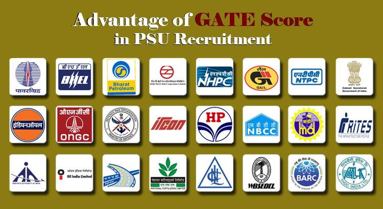 Advantage of GATE Score in PSU Recruitment