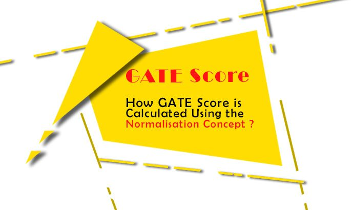 How GATE Score is calculated using the Normalisation concept