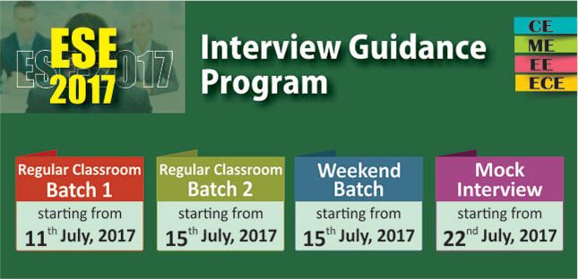 Interview Guidance Program for ESE 2017