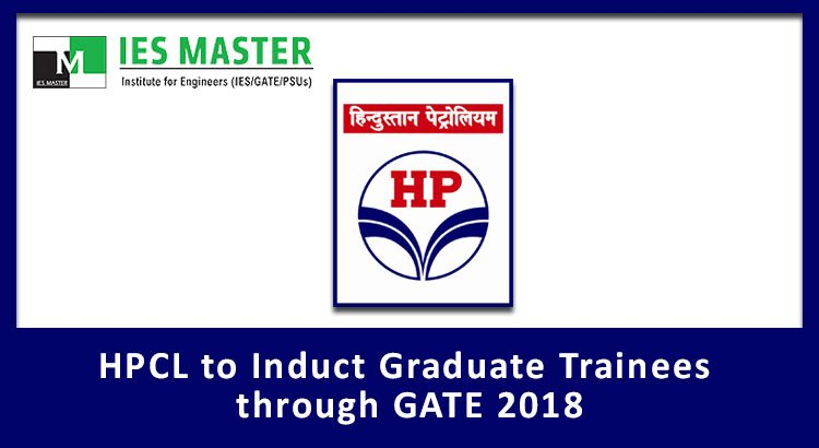 HPCL to Induct Graduate Trainees through GATE 2018