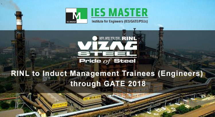 RINL-to-Induct-Management-Trainees-(Engineers)-through-GATE-2018