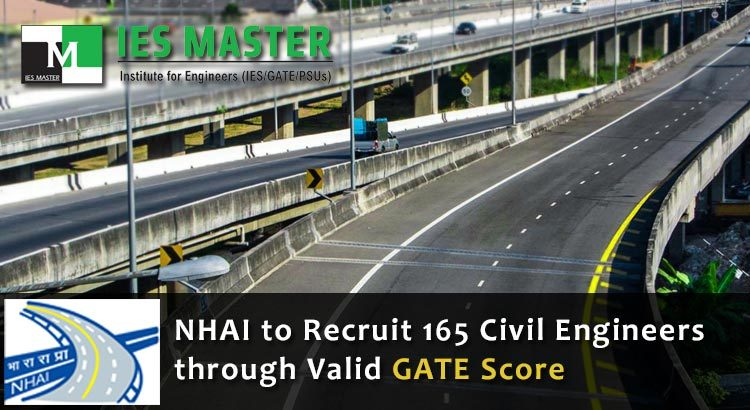 NHAI-to-Recruit-165-Civil-Engineers-through-Valid-GATE
