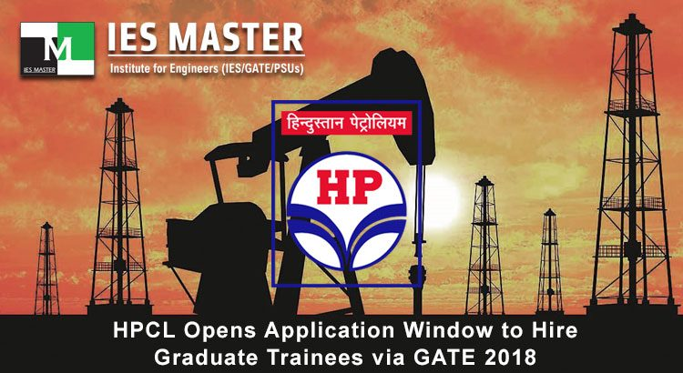 HPCL Opens Application Window to Hire Graduate Trainees via GATE 2018