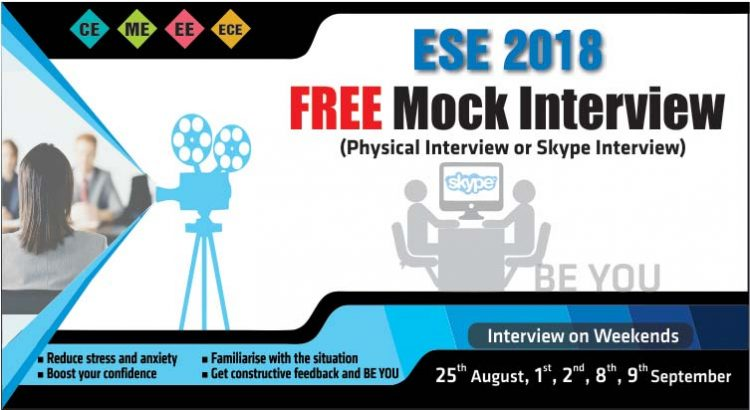 UPSC ESE 2018 Mock Interview