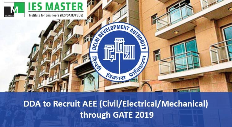 DDA-to-Recruit-AEE-Civil-Electrical-Mechanical--through-GATE-2019