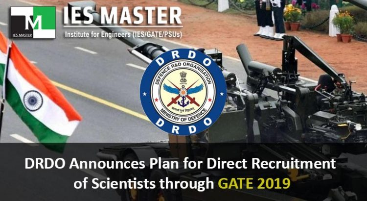 DRDO-Announces-Plan-for-Direct-Recruitment-of-Scientists-through-GATE-2019