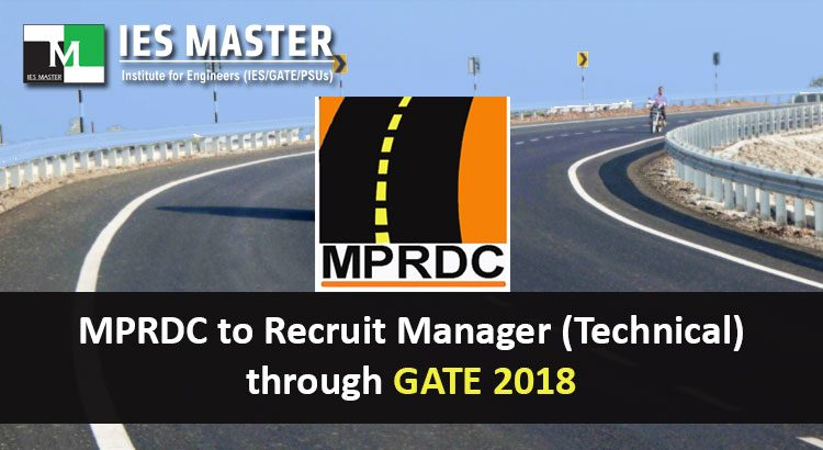 MPRDC-to-Recruit-Manager-(Technical)-through-GATE-2018