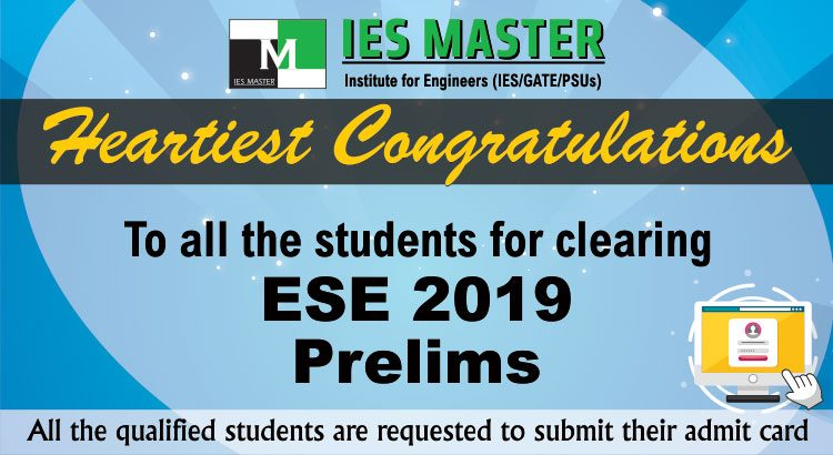 Gate Results 2019 Twitter: ESE 2019 Prelims Results Announced By UPSC