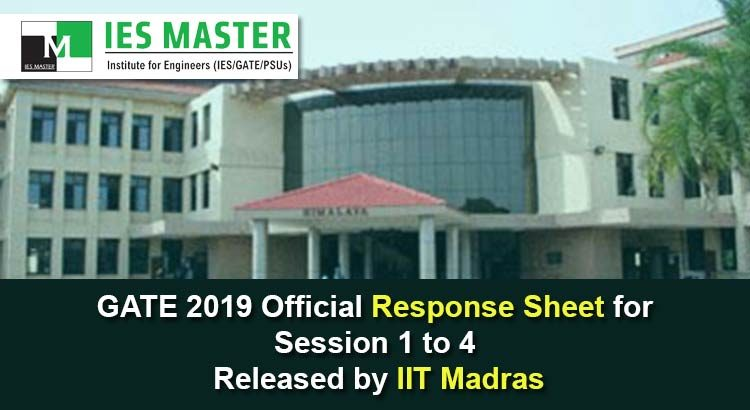 GATE-2019-Official-Response-Sheet-for-Session-1-to-4-Released-by-IIT-Madras