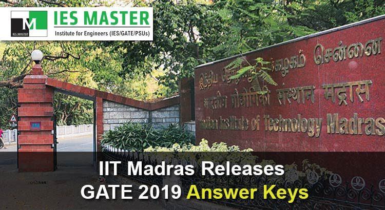 IIT-Madras-Releases-GATE-2019-Answer-Keys