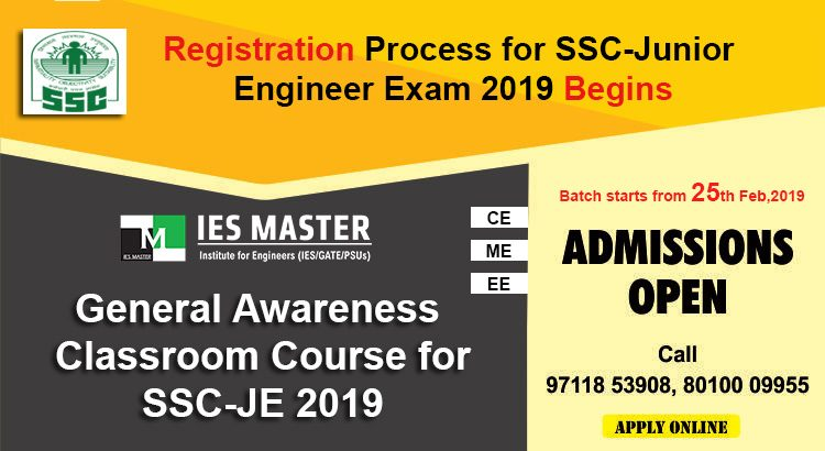 Registration-Process-for-SSC-Junior-Engineer-Exam-2019-Begins