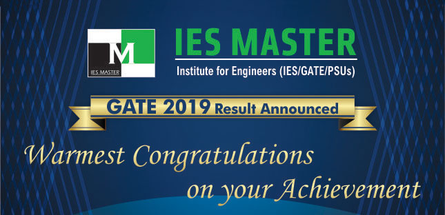GATE-2019 Result announced