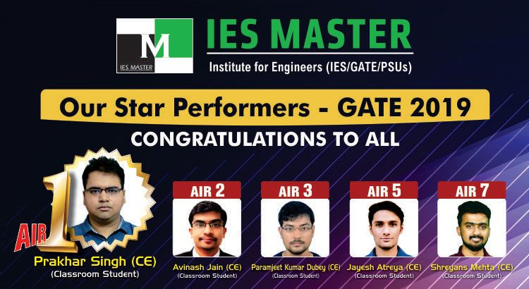 GATE 2019 Toppers