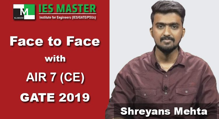 GATE-2019-Face-to-Face-Shreyans-Mehta