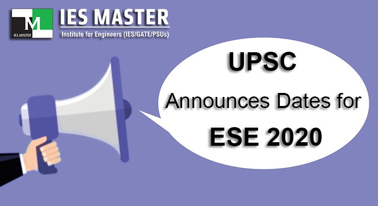 UPSC-Announces-Dates-for-ESE-2020