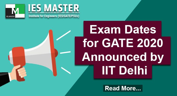 Exam-Dates-for-GATE-2020-Announced-by-IIT-Delhi
