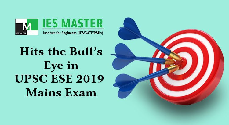 ESE 2019 UPSC - IES Master
