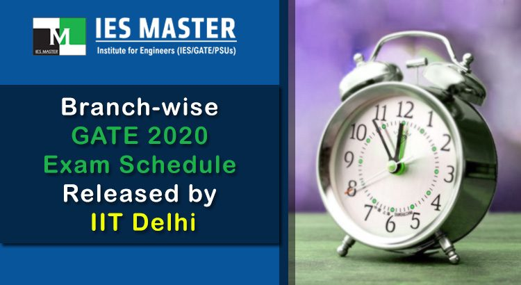 Branch-wise-GATE-2020-Exam-Schedule-Released-by-IIT-Delhi