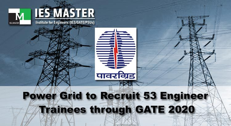 Power-Grid-to-Recruit-53-Engineer-Trainees-through-GATE-2020