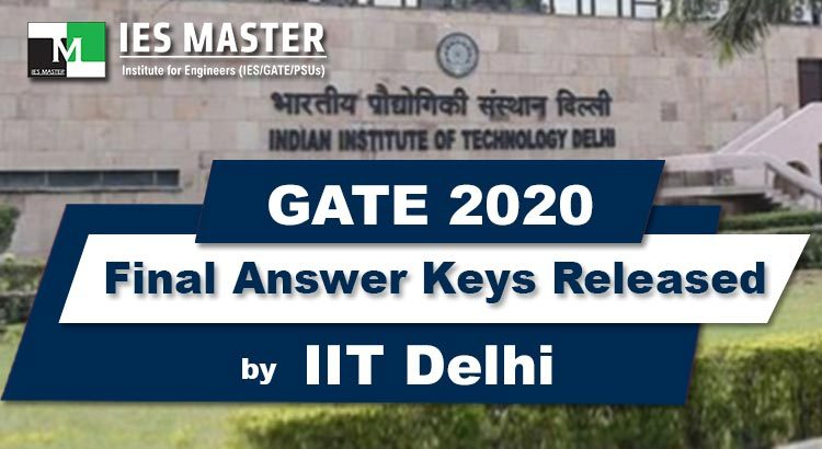GATE-2020-Final-Answer-Keys-Released-by-IIT-Delhi