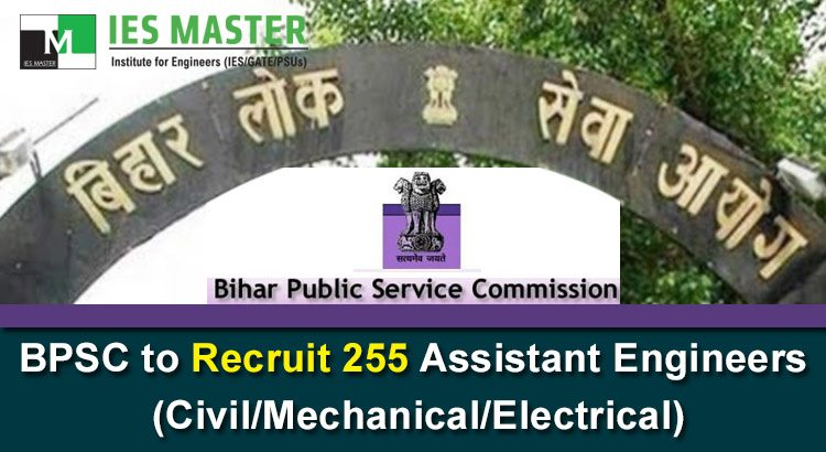 BPSC-to-Recruit-255-Assistant-Engineers-Civil-Mechanical-Electrical
