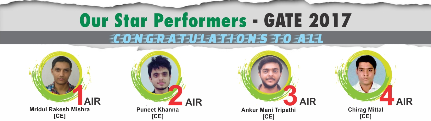 GATE 2017 Result - IES Master Topper