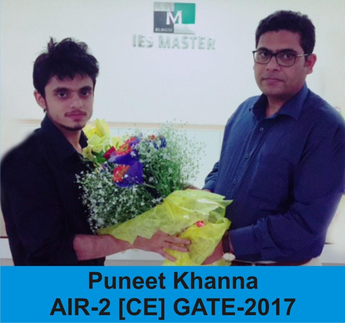GATE 2017 CE Topper AIR 2