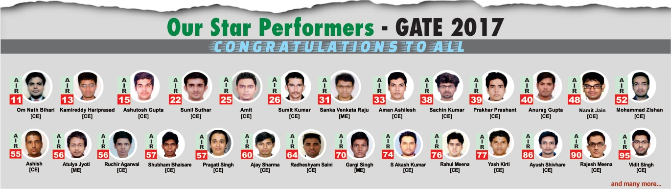 GATE 2017 Result Top 100 - IES Master Topper