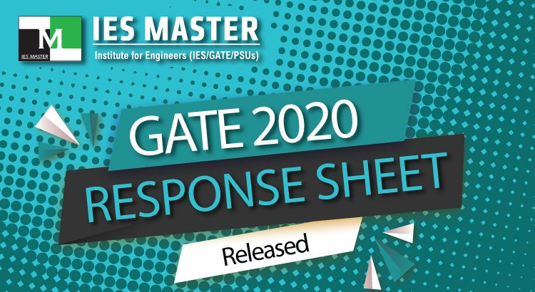 GATE 2020 Official Response Sheet Released