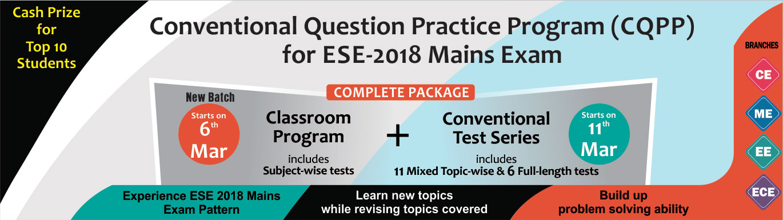 ESE 2018 Conventional Question Practice Program