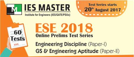 ESE Online Test Series