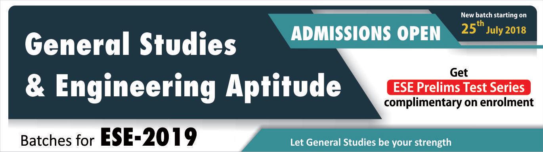 General Studies & Engineering Aptitude