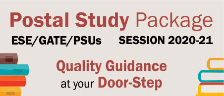 Postal Study Program Package, ESE 2021, GATE 2021, CE, ME, EE, ECE, ESE, GATE, PSUs