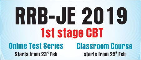 RRB-JE Test Series, RRB-JE Classroom Program, RRB-JE by IES MASTER