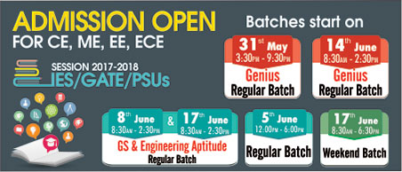 Admission Open for ESE/GATE/PSUs   IES Master