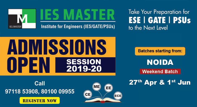 Best coaching institute for GATE/ESE/PSUs in Noida - IES Master