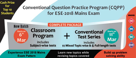 ESE 2018 Conventional Question Practice Program