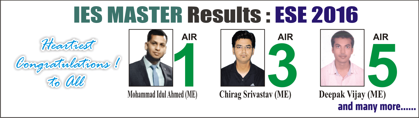 ESE 2016 Result - Top 10 by IES Master