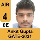 Ankit-Gupta-GATE-2021-Topper-AIR4-CE