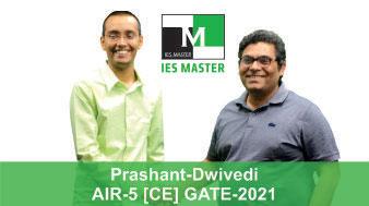 Prashant Dwivedi-GATE-2021-Topper-AIR5-CE