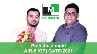 Pranshu-Jangid-GATE-2021-Topper-AIR8-CE