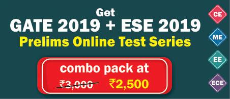 GATE + ESE 2019 Online Test Series
