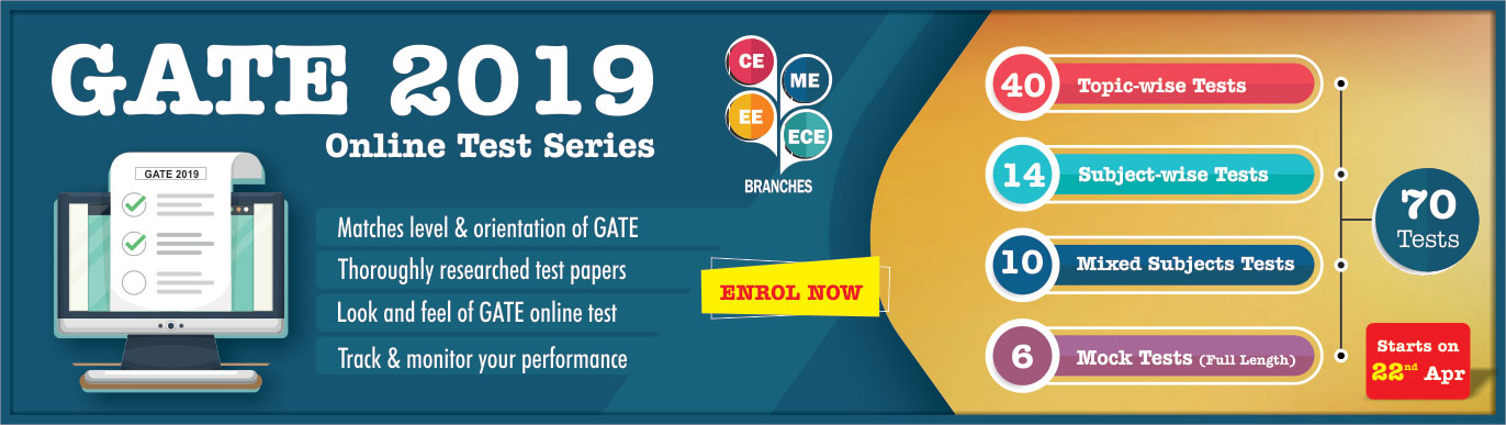 GATE Online Testseries 2019, IES Master