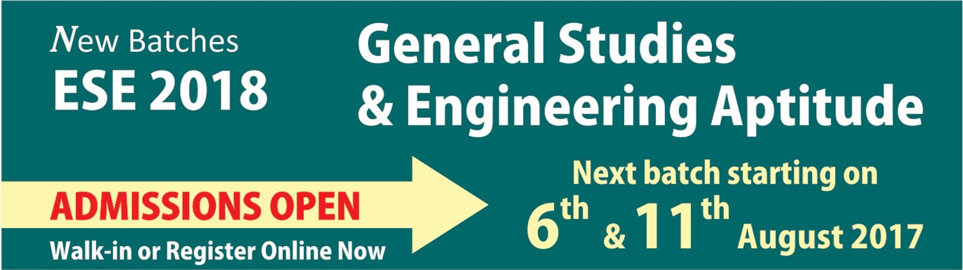 GS & Engineering Aptitude Batch by IES Master