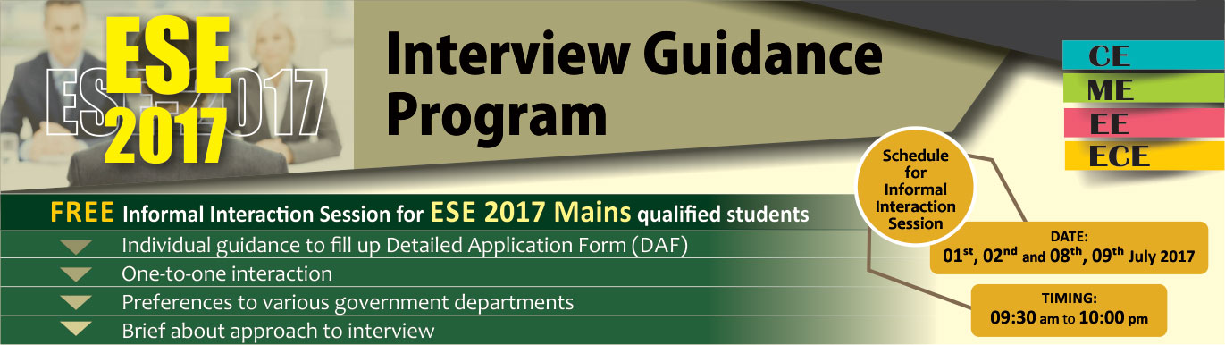 Interview Guidance Program by IES Master