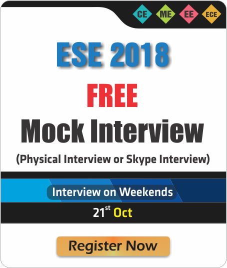 ESE 2018 FREE Mock Interview