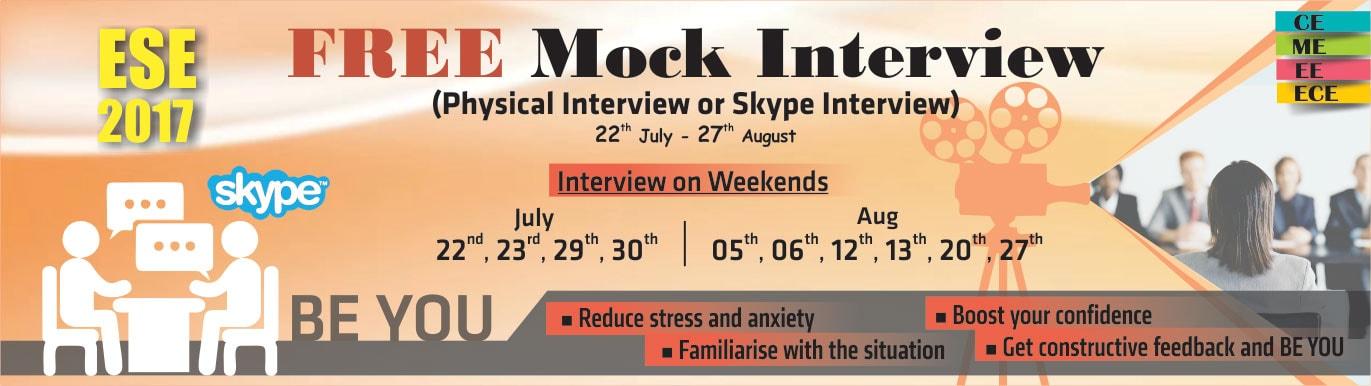 Mock Interview Guidance Program