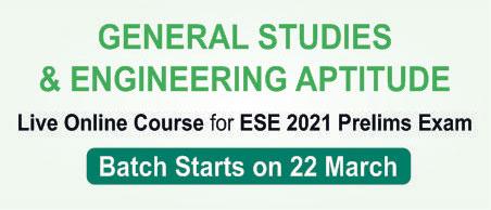 ESE 2021 GS & Engineering Aptitude Program