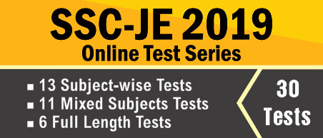 SSC-JE 2019 Prelims Online Test Series
